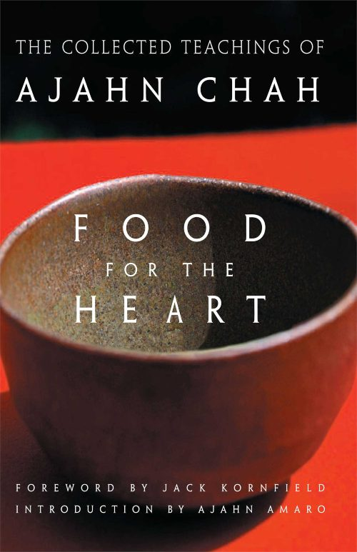 Bookcover - Food for the Heart by Ajahn Chah