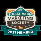 Society Media Marketing Society 2021 Member Badge
