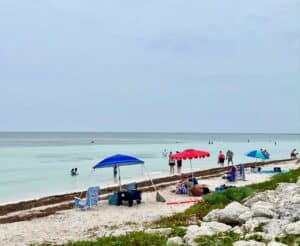 Photo of the beach at Curry Hammock State Park Florida