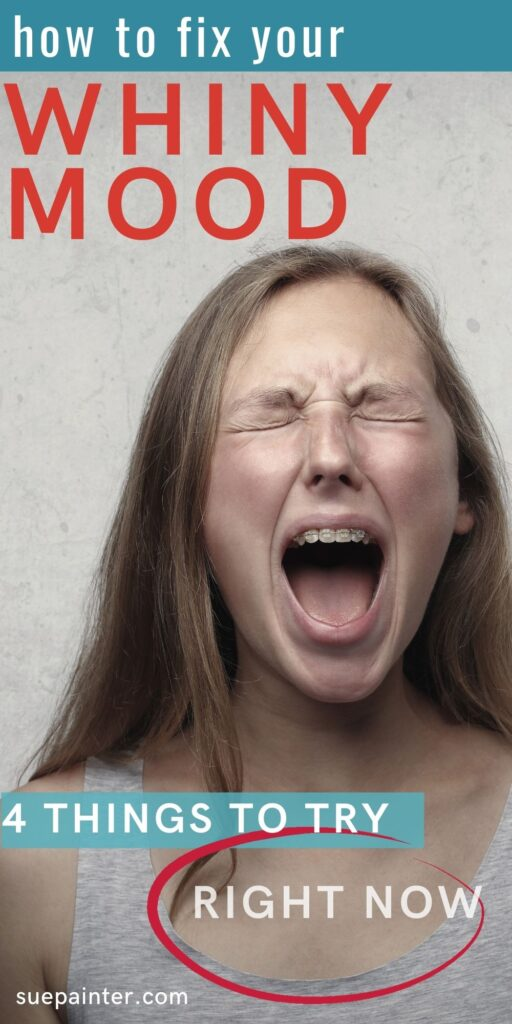 Woman in whiny mood how to change a whiny mood